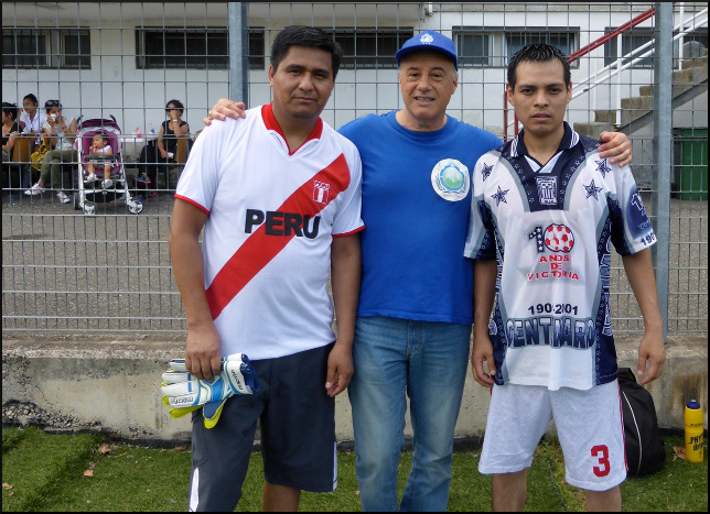 players South America and Carlo Chierico